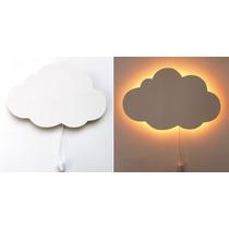 Luminária Nuvem, Quarto Bebe, Nuvem De Luz, Luminária, Nuvem