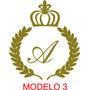Kit Provençal - Ramos + Letra + Coroa - Em Mdf 6 Modelos