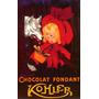Criança Lobo Chocolate Fondant Poster Repro