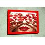 Placa Decorativa 27x19cm * Red Nails * Art .by El Lulu