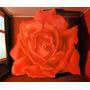 Pintura Abstrata Rosa Vermelha Pintor Magritte Tela Repro