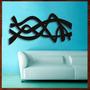 Quadro Decorativo Abstrato Escultura Parede Moderna Em Mdf