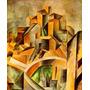 Arte Abstrata Quadros Horta Ebro Pintor Picasso Tela Repro