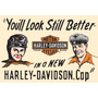 Poster Quadro Harley Davidson Motos Antigas