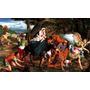 Virgem Maria Caminhada Para Egito Pintor Bassano Tela Repro