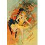 Pintura Mulheres Dança Balet Poster Repro