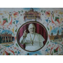 Quadro Antigo Imagem Papa Escrito Em Latin 1962 Assinado (e)