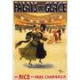 Palacio Do Gelo Mulheres Dança Diversão Poster Repro