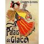 Palacio De Gelo Dança Mulher Homem Poster Repro