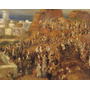 Festival Árabe Em Argel O Casbah Pintor Renoir Canvas Repro