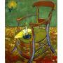 Cadeira De Gauguin 1888 Pintor Van Gogh Tela Repro