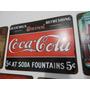 Placas Em Metal Coca-cola Cerveja Duff
