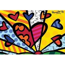 Quadros Pop Art Romero Britto - A Partir De R$34,90 - Show!