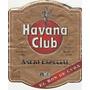 Rótulo Rum Havana Club - Cuba - F13