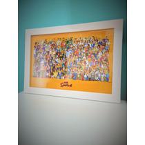 The Simpsons - Quadro Decorativo 20x30