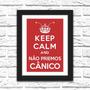 Quadro Decorativo Keep Calm Chapolin Zarco Interiores