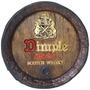 Tampa Barril,whisky Dimple Grande,quadro,decoração