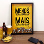 Quadro Decoração Cerveja Rolha Vinho Exclusivo