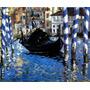 Grande Canal Veneza Azul Itália 1875 Pintor Manet Tela Repro