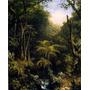 Floresta Amazônica Mata Árvores Pintura Heade Na Tela Repro