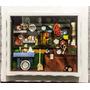 Cozinha Mineira /quadro De Miniaturas Com Moldura
