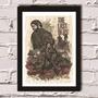 Poster Com Moldura The Last Of Us - P2