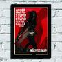 Poster Com Moldura Michael The Walking Dead Michone