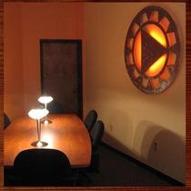 Quadro Mandala Iluminada Em Escultura De Mdf Vazado