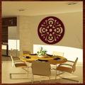 Quadro Mandala Em Escultura De Mdf Vazado Fre Grátis 90x90cm