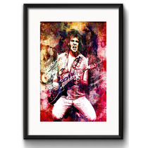Quadro Neil Young Pop Art Rock Guitarra Decoracao Paspatur