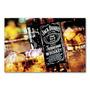 Placa Decorativa Garrafa Whisky Jack Daniels - 30x20 Cm