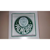 Quadro Do Palmeiras-arte Francesa C/vidro