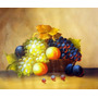 Quadro Tela Giclée Le Roi Des Fruits 50x60cm - Belissimo!