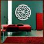 Quadro Decorativo Mandala Mdf Escultura Parede Vazada 70 Cm