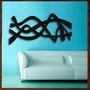 Quadro Abstrato Escultura Parede Mdf C/ 1 Metro Tamanho P