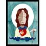Quadro Poster Decorativo A3 Moldura 29x42cm Jesus Arte Sacra