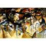 Quadro Arte Abstrata Composição V 1911 Kandinsky