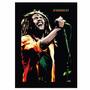 Quadro Bob Marley - Moldura Preta