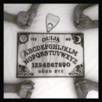 Tabuleiro (tábua) Ouija Madeira Pirógrafo