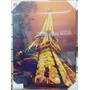 Quadro Torre Eiffel Parede Tela Decoração C/ Led 70 Cm B7723