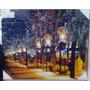Quadro Cidade Luz Parede Tela Decoração C/ Led 60 Cm B7726