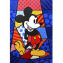 Quadro Decorativo Romero Britto Mickey 0,70 X ,1,00m
