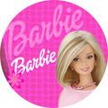 Quadro Personalizado Em Vinil, Barbie