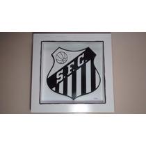 Quadro Do Santos-arte Francesa C/vidro