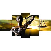 Quadro Decorativo Advocacia Direito Deusa Da Justiça