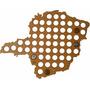 Mapa De Minas Gerais Para Coleção De Tampinhas De Garrafa