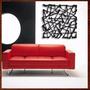 Quadro Decorativo Abstrato Escultura Parede Mdf C/ 80x80 Cm