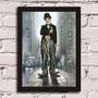 Poster Com Moldura Charlie Chaplin 2