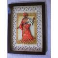 Arte Francesa Africana-com Vidro