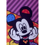 Quadro Decorativo Romero Britto Mickey 0,70 X ,1,00m